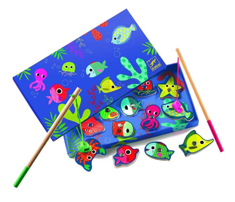 מגנטים דיג - דגים צבעונים