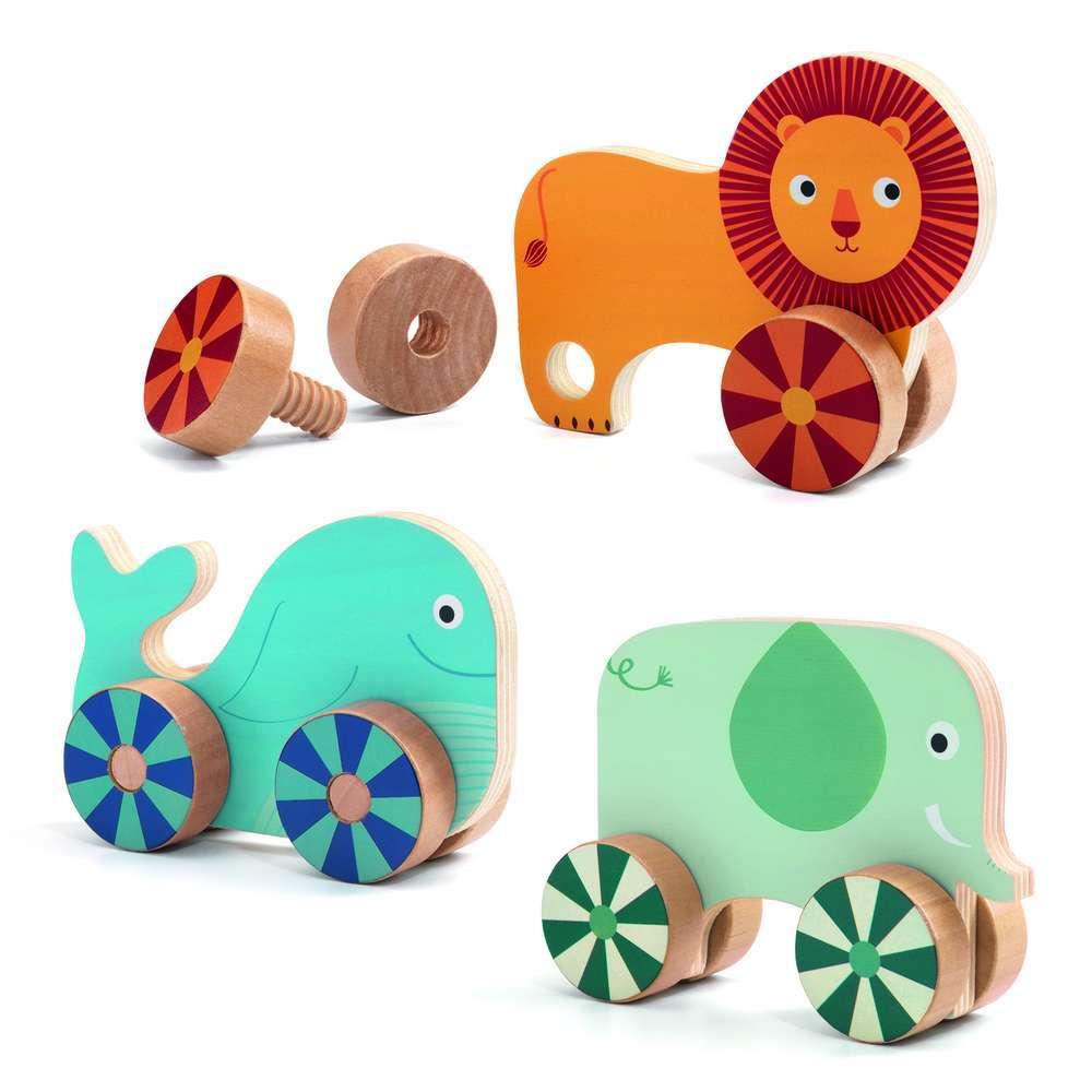 הברגה - חיות על גלגלים