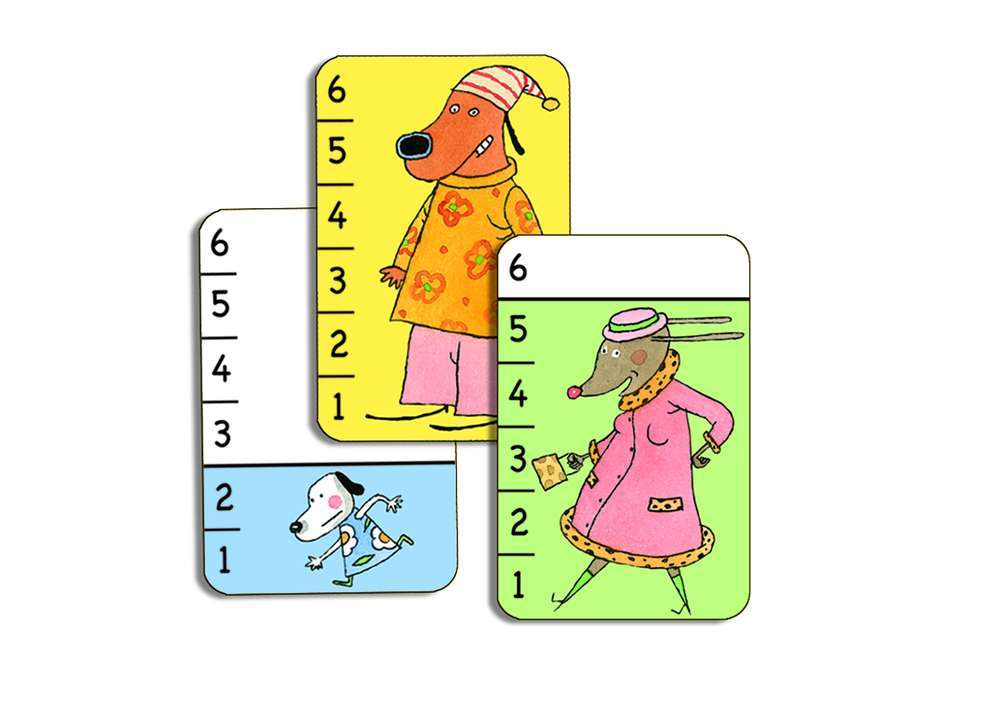 קלפים - מלחמה כלבים