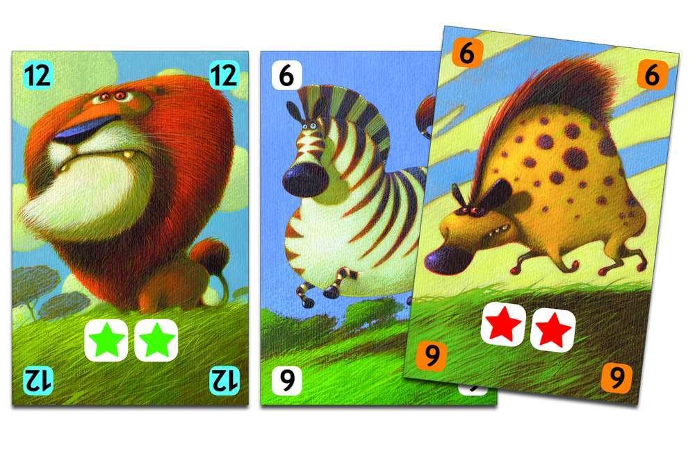 קלפים - חיות בסוואנה