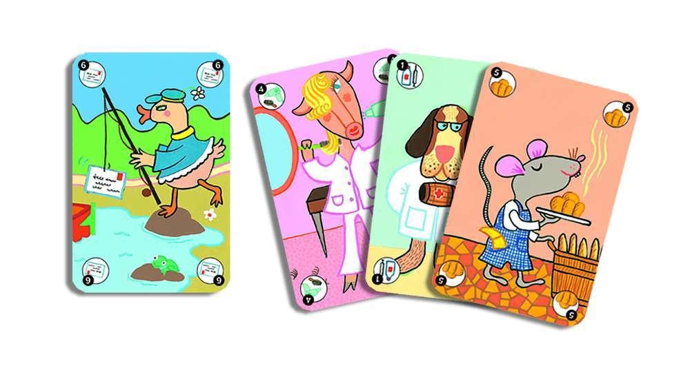 קלפים - משפחות חיות