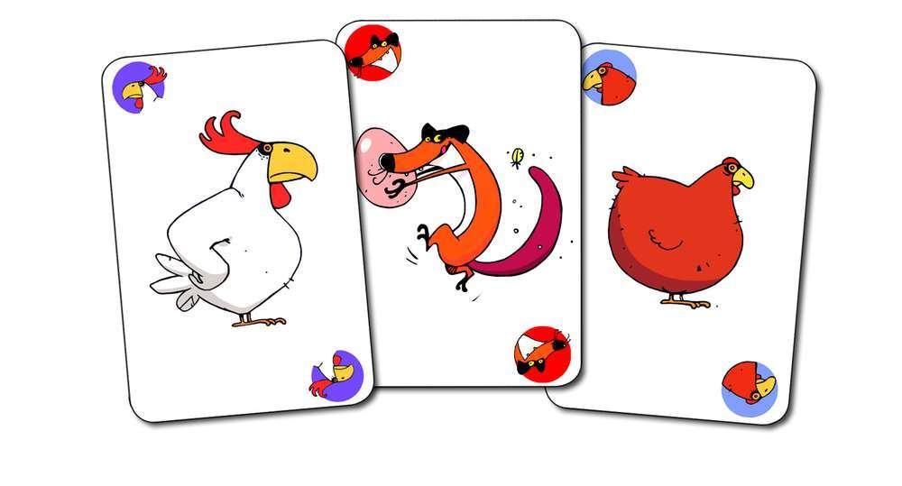 קלפים - קרב תרנגולים