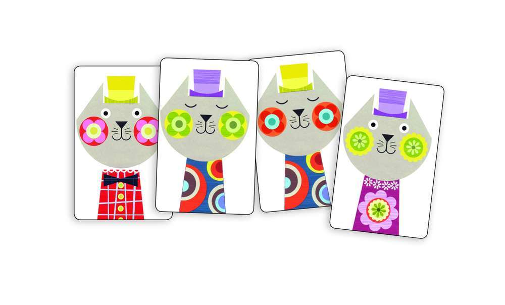 קלפים - חתולים סיאמים