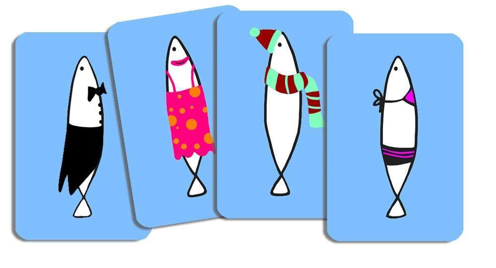 קלפים - זכרון סרדינים