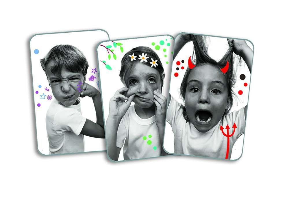 קלפים - פרצופים