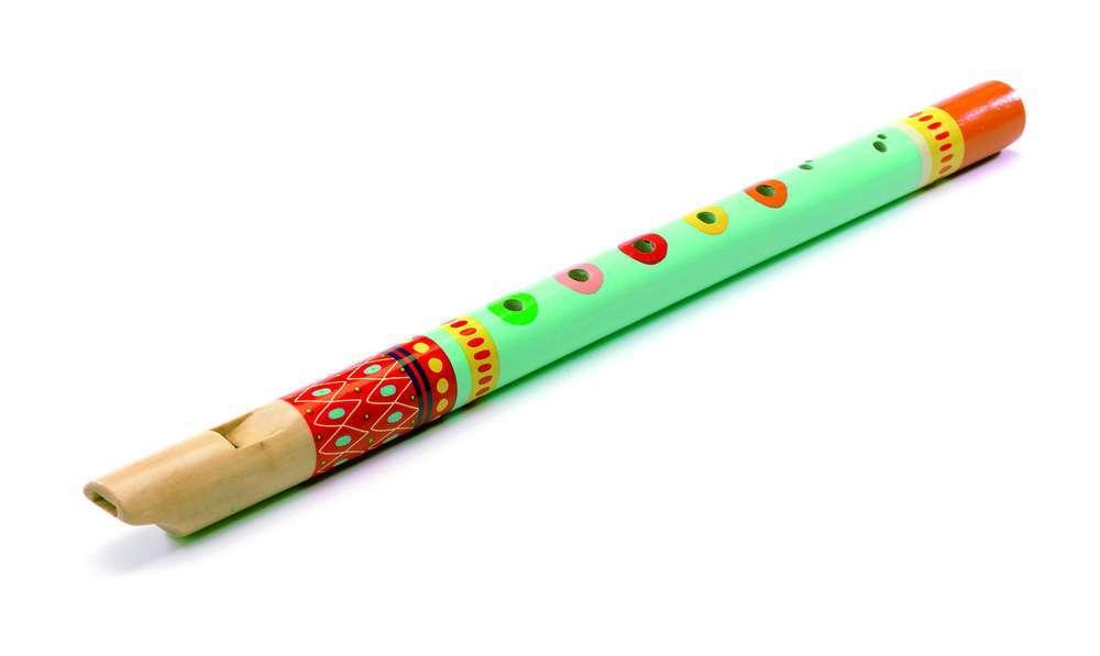 כלי נגינה - חלילית עץ