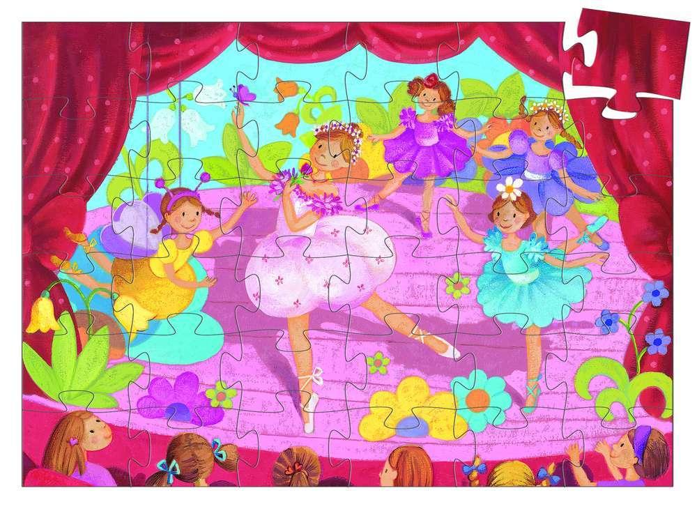 פאזל 36 - רקדנית