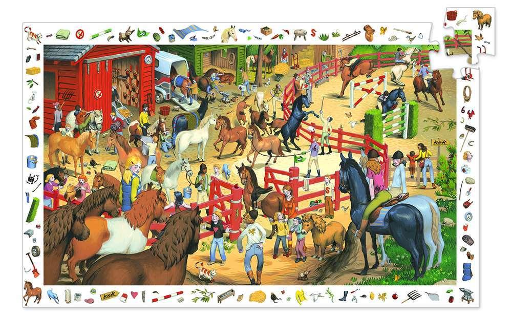 פאזל מסגרת  200 - סוסים