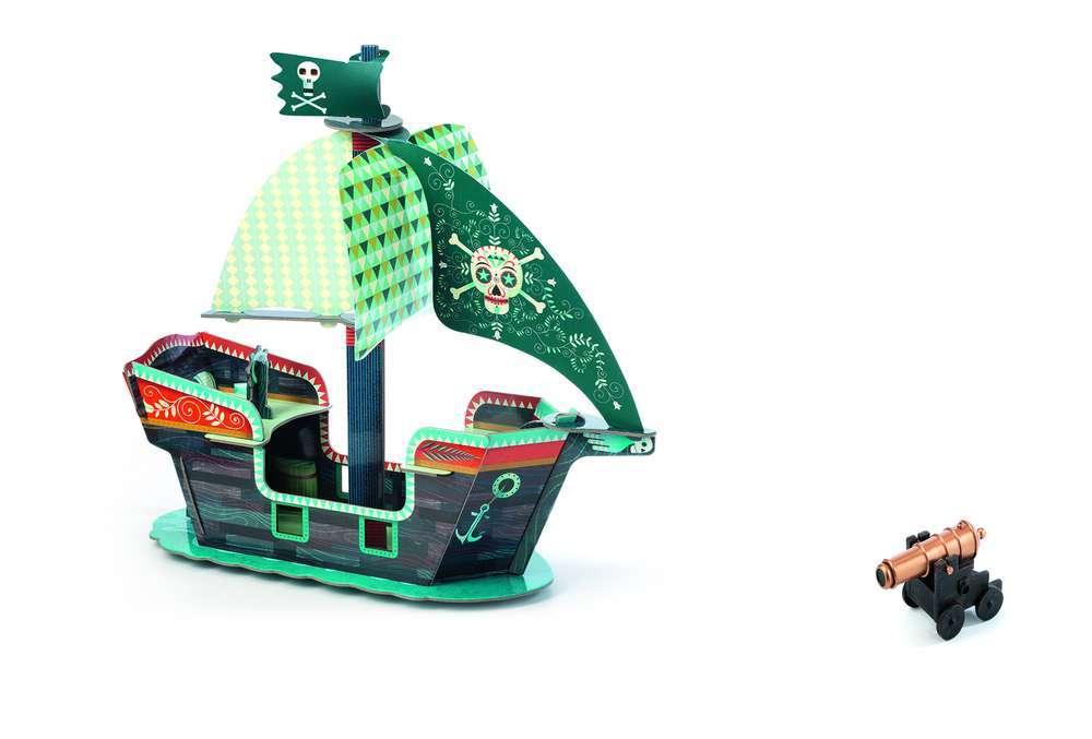 תלת מימד - ספינת פיראטים
