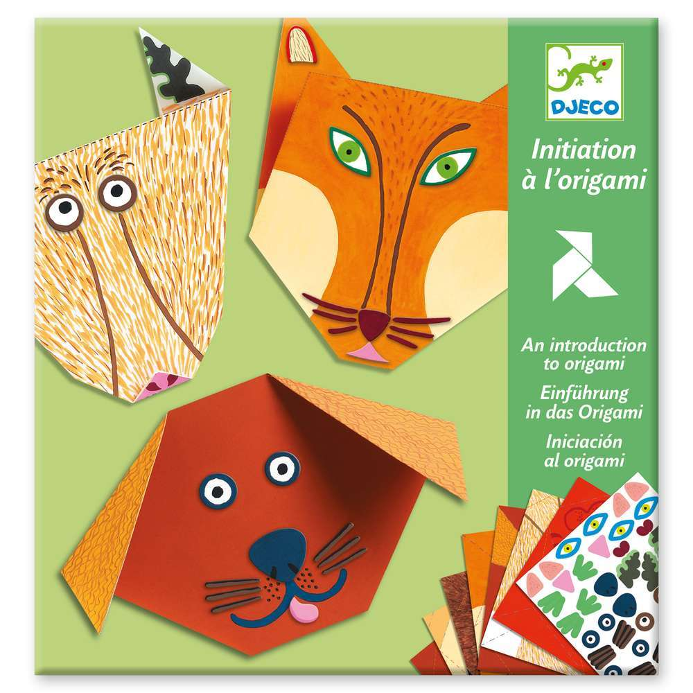 יצירה אוריגמי - חיות