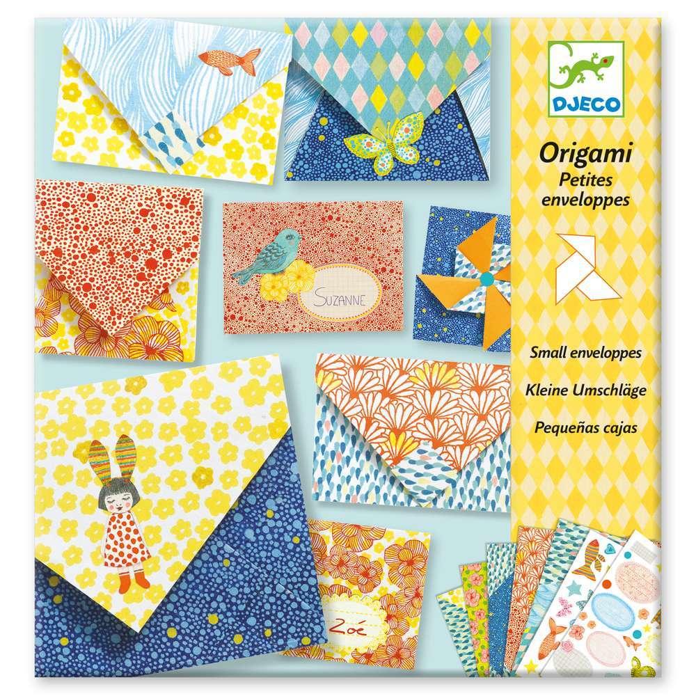 יצירה אוריגאמי - מעטפות קטנות