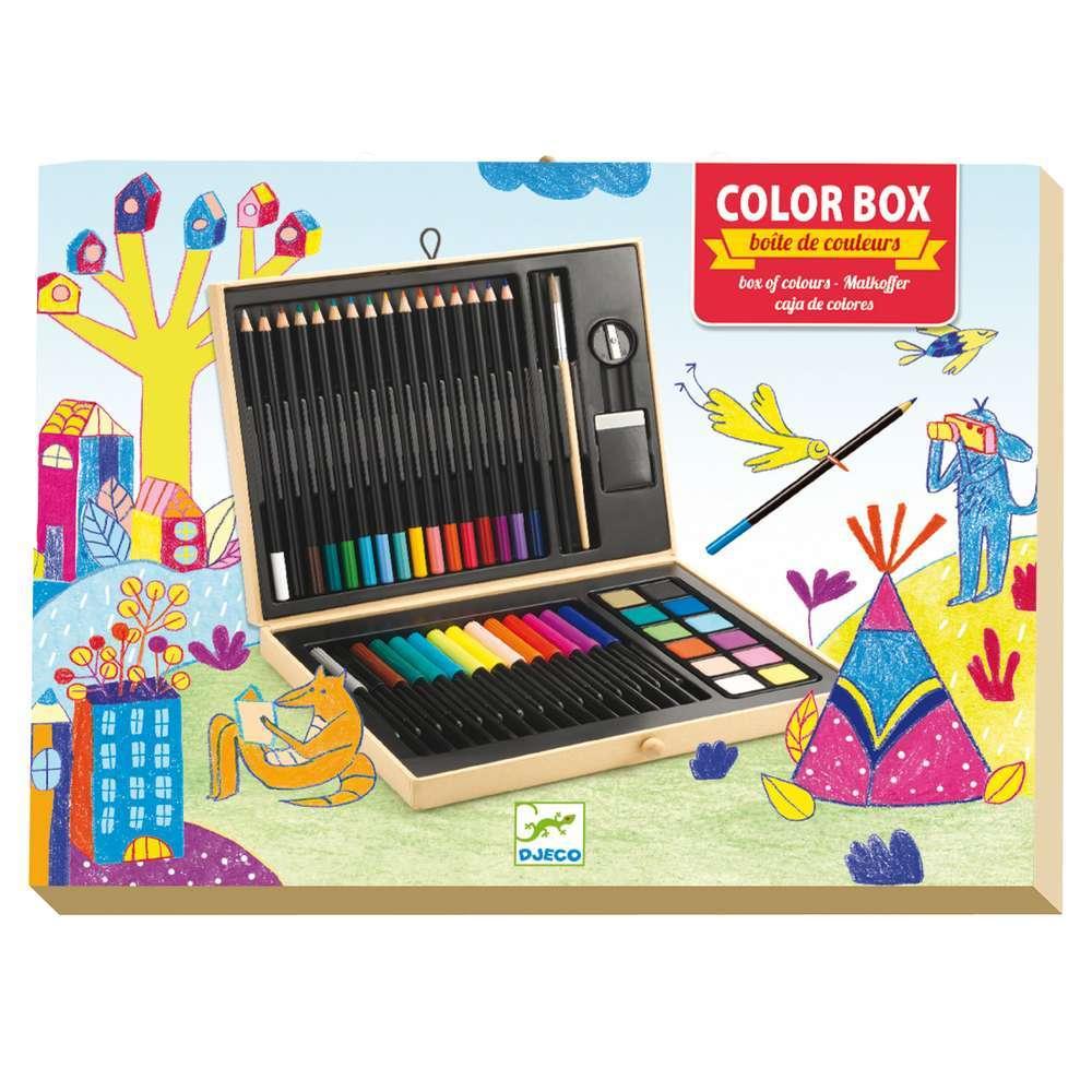 יצירה חומרים - אריזת צבעים מהודרת