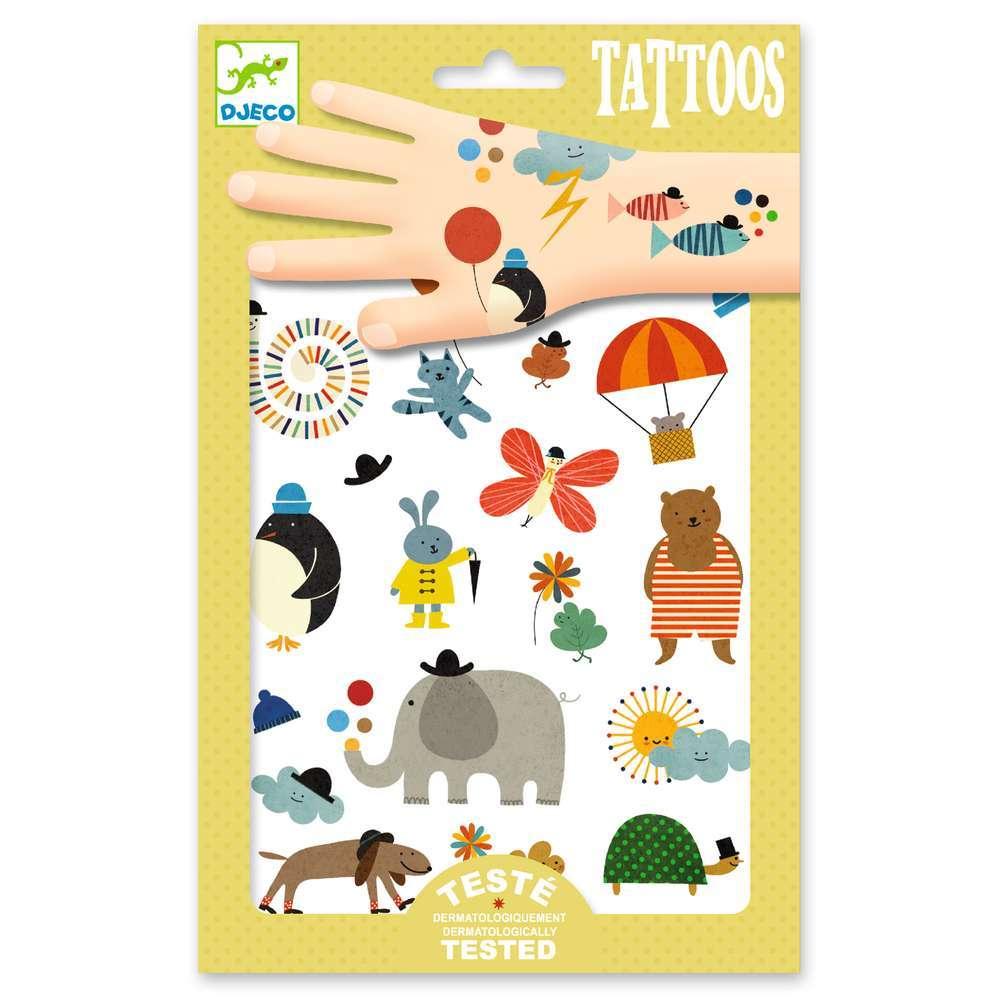 קעקועים - חיות פיל